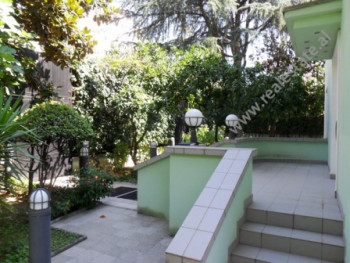 Villa for rent in Skenderbeg street , Embassies area in Tirana. The villa is located on the side of