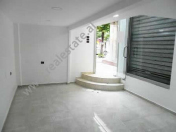 Store for rent near Skenderbeg Square in Tirana.