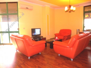 Duplex apartment for rent in the center of Tirana. Positioned on the 5 -6th floor of a new bu
