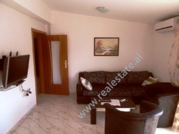 Two bedroom apartment for rent close to Muhamet Gjollesha Street in Tirana.