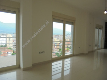 Apartment for rent in Qemal Stafa street in Tirana. Positioned on the 9th floor of a new building w