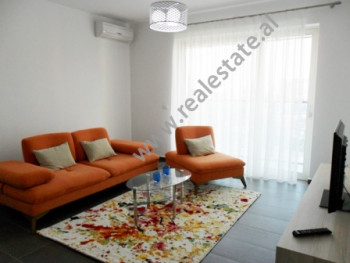 Apartment for rent near Dervish Hima Street in Tirana. It is situated on the upper floors in a new
