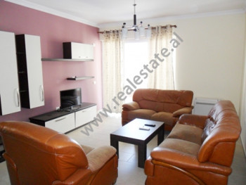 Apartment for rent at the beginning of Hamdi Garunja Street in Tirana. It is situated on the 5-th a