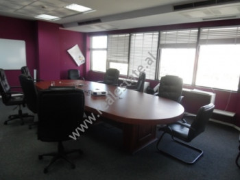 Office space for rent in Deshmoret e Kombit Boulevard in Tirana. The office is situated on the 10th