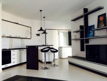 One bedroom apartment for sale in Kodra e Diellit residence in Tirana. It is situated on the 2nd fl