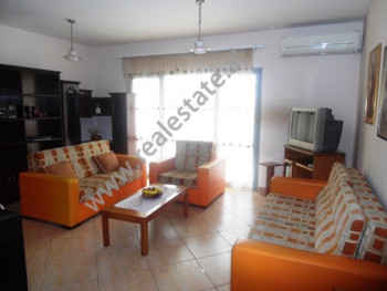 Two bedroom apartment for rent in Zogu Zi Square. The apartment is situated on the 3-rd floor of a