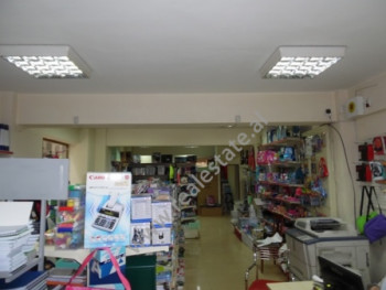 Store for rent close to Asim Vokshi Street in Tirana. The store is situated on the ground floor of