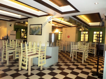 Bar-restaurant for rent close to Tirana center in Tirana. It is situated on the underground floor &