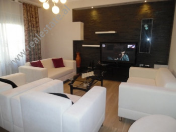 Two bedroom apartment for rent in Him Kolli street in Tirana. The apartment is situated on 2nd floor