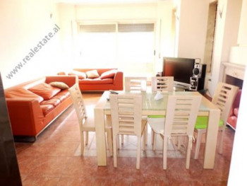 Four bedroom apartment for rent in Themistokli Germenji Street in Tirana.