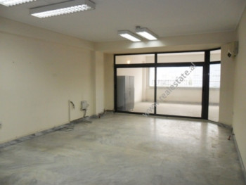 Office for rent at the beginning of Kavaja Street in Tirana. It is situated on the upper floors in
