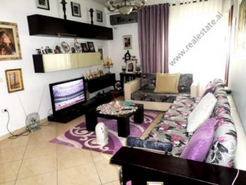 Two bedroom apartment for sale close to Kodra Diellit area in Tirana. It is situated on the 2-nd fl