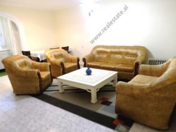 Two bedroom apartment for sale in Karl Gega Street in Tirana. It is situated on the 5-th floor of a