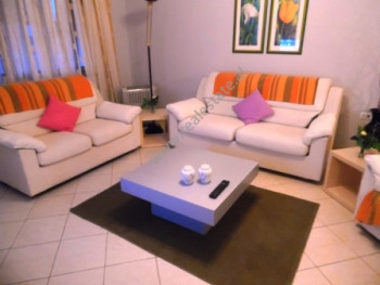 One bedroom apartment for rent close to Aba Center in Tirana. The apartment is situated on