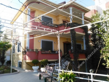 Three-storey Villa for rent in Kostaq Cipo Street in Tirana. It is situated in a quiet area of the
