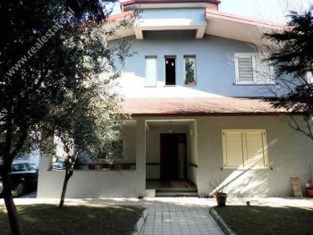 Two storey Villa for rent in Maliq Topuzi Street in Tirana. It has 800m2 land surface and 260m2 con