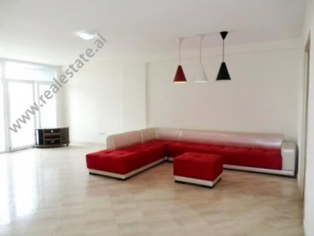 Two bedroom apartment for office for rent in Themistokli Germenji Street in Tirana. It is situated