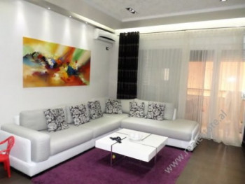 Three bedroom apartment for rent in Mahmut Fortuzi street in Tirana. The apartment is situated on t
