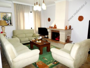 Two bedroom apartment for rent close to Blloku area in Tirana. It is situated on the 9-th floor of