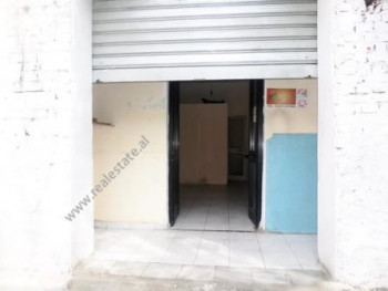 Store for sale in Njazi Demi Street in Tirana.