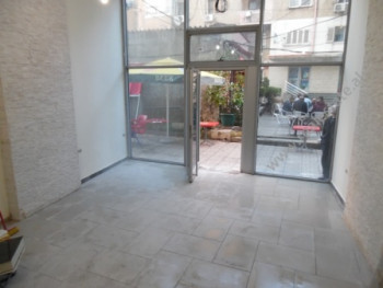 Store for rent in Myslym Shyri street in Tirana.