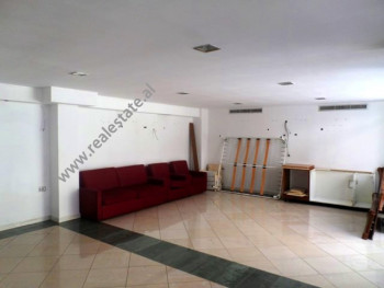 Store is situated close to Taivan Complex in Tirana.The space is 50m2 and it is offered unfurnished.