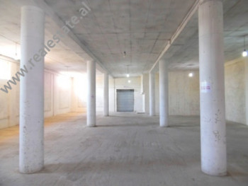 Two storey warehouse for rent in Myslym Keta street at Komuna e Dajtit in Tirana.
