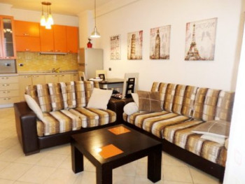 Apartment for rent close to European University in Tirana. The apartment is situated on the 6
