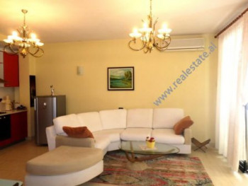 Two bedroom apartment for rent in Hamit Shijaku street in Tirana.