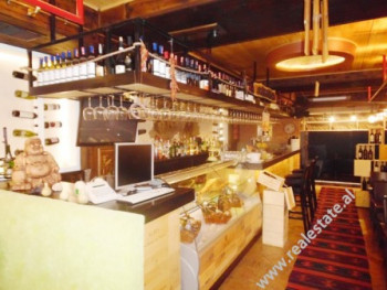 Bar for sale in Willson Square in Tirana, Albania.