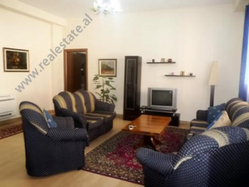 Two bedroom apartment for rent close to Skenderbej Square in Tirana. It is situated on the 3-rd flo