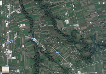Land for sale near Rinas village, very close to International Airport of Albania. The land ha