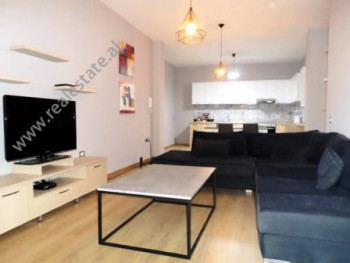 Two bedroom apartment for rent close to Cristal Center in Tirana.  It is situated on them 6-th flo