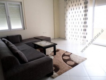 Two bedroom apartment for rent close to Botanic Garden in Tirana. It is situated on the 4-th floor