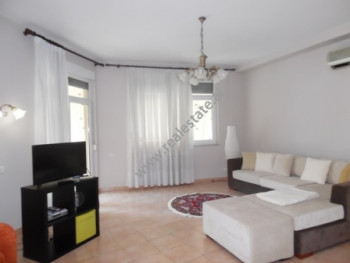 Apartment for rent in Beqir Luga street in Tirana, Albania. The apartment is situated on the second