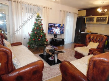 Two bedroom apartment for rent close to the Center of Tirana. It is situated on the 3-rd floor of a