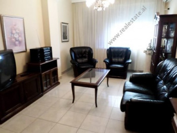 Two bedroom apartment for rent in Blloku area in Tirana. It is situated on the 5-th floor of a new