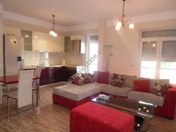 Two bedroom apartment for rent on Myslym Shyri street. 