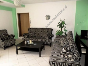 Apartment for rent close to Globe Center in Tirana. The apartment is located on the 10th floor of a