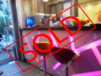 Coffee Bar for sale in close to Muhamet Gjollesha Street in Tirana.The property is situated on the g