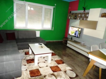 Apartment for sale in Teodor Keko street in Tirana. The apartment is situated on the eighth floor o