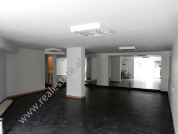 Store for rent close to Dibra street in Tirana, Albania.