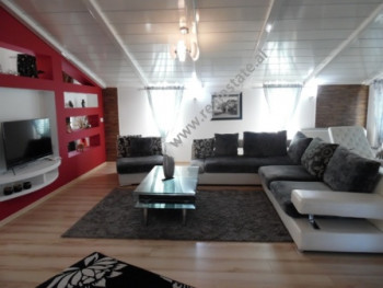 Three bedroom apartment for rent in Sauku village in Tirana. The apartment s situated on third floo