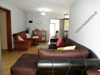One bedroom apartment for rent close to ATSH area in Tirana. It is situated on the 5-th floor of a