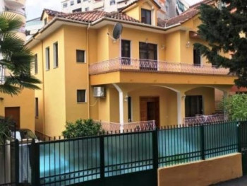 Two storey villa for rent close to Dinamo Complex in Tirana.