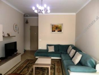 Apartament me qera ne rrugen Tish Dahia ne Tirane. Ndodhet ne katin e 5-te ne kompleksin Kika e Re.