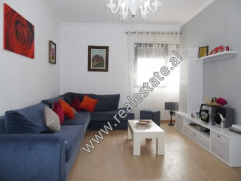 Two bedroom apartment for rent close to Barrikadave Street in Tirana.