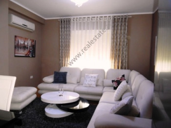 Apartment for rent close to Sun Hill residence in Tirana. The apartment is situated on the fifth fl