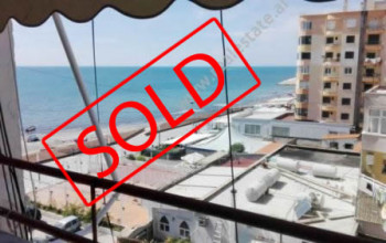 One bedroom apartment for sale close to Taulantia Boulevard in Durres. It is situated on the 4-th f