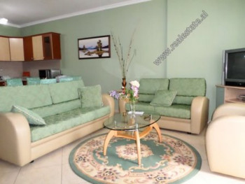 One bedroom apartment for rent Siri Kodra Street in Tirana, Albania. Is situated on the 4-th floor